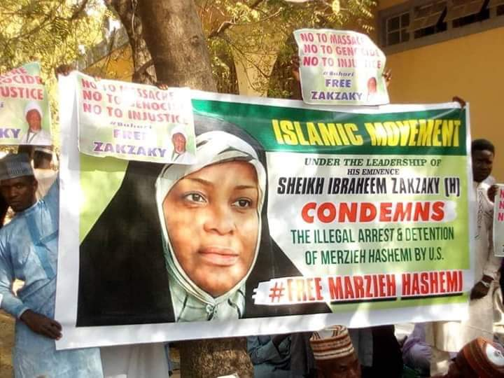 Rally staged in support of Hashemi in Nigeria
