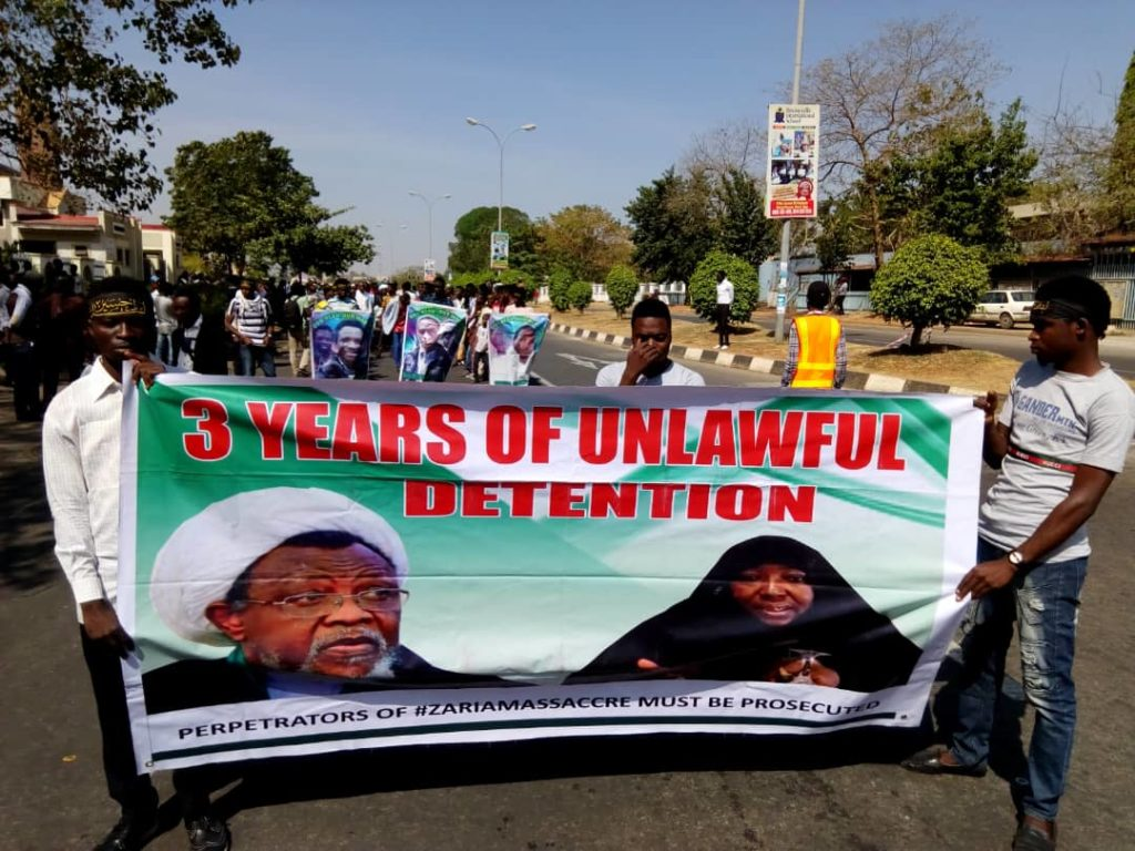 Three years after the unjustifiable Zaria Massacre