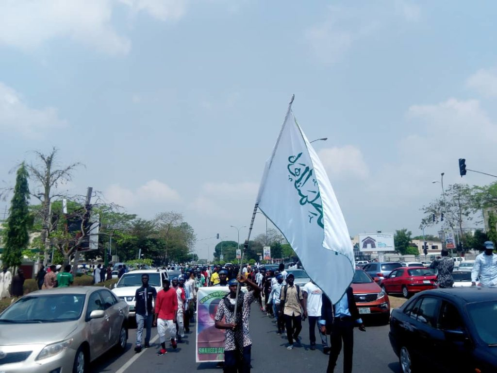 Photos: Women's Day (Zahra Day) Procession in Abuja