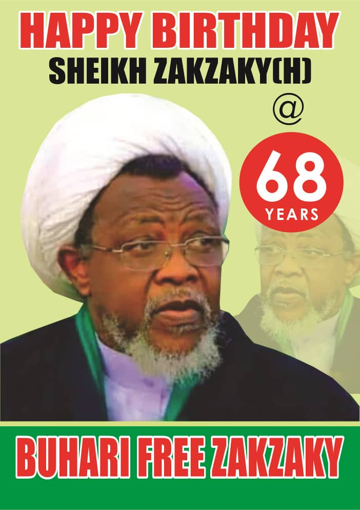 At 68; Sheikh  Zakzaky And His Wife Spent 1,227 Days in Illegal Detention