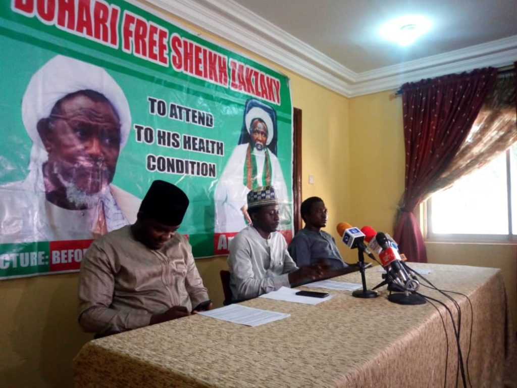 Fresh Press conference held on the deteriorating health condition of Sheikh Zakzaky (H)