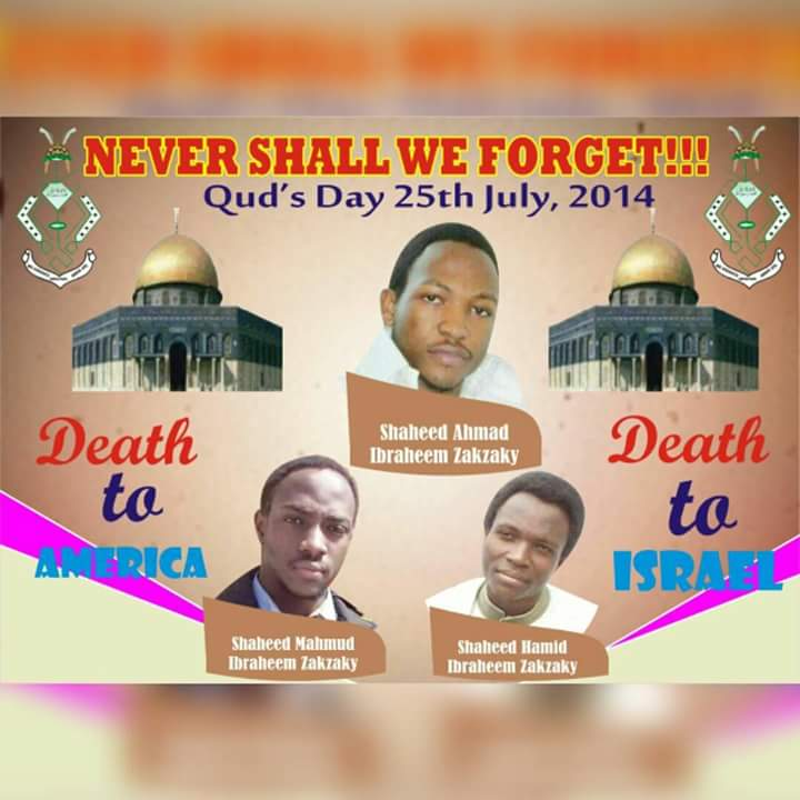 25th July: A Foundation to 12th December Zaria Massacre