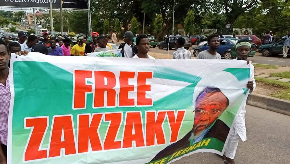 Daily #FreeZakzaky Protest Staged In Abuja