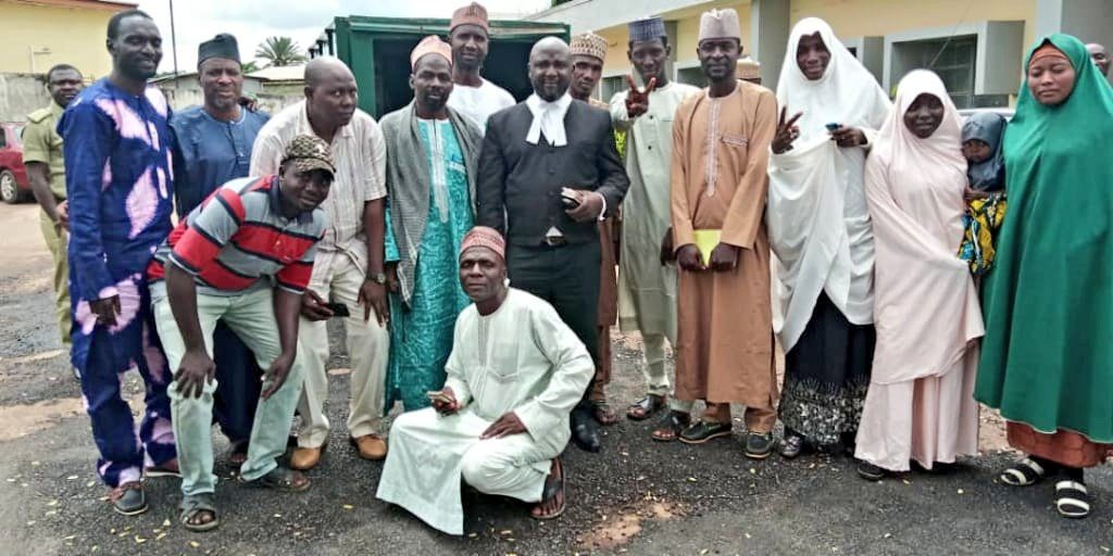 Kaduna High Court Freed 15 Brothers Unlawfully Detained In Kaduna