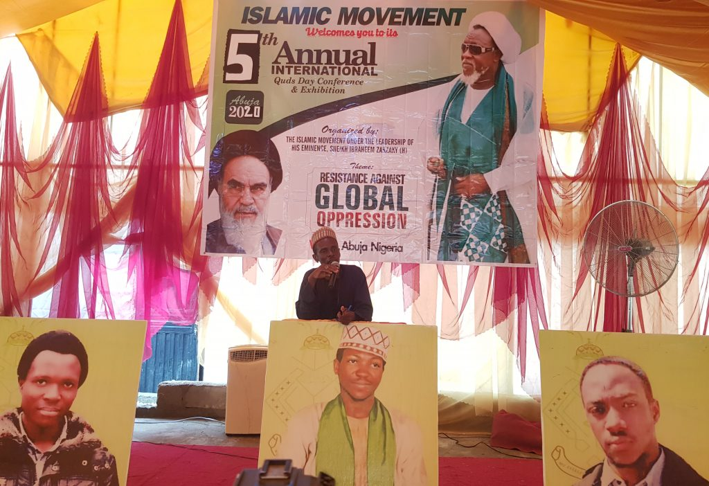 Islamic Movement In Nigeria Marks 5th Annual International Quds Day Conference